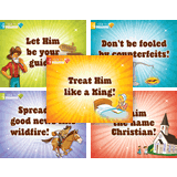 Gold Rush VBS: Overview Posters: Set of 5