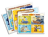 Gold Rush VBS: Illustration Posters: Pre-primary