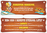Gold Rush VBS: Bookmarks: Admit! Believe! Forever receive!