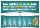 Gold Rush VBS: Bookmarks: Names of Jesus
