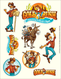 Gold Rush VBS: Sticker Sheets: Logo sticker sheets (pack of 10)