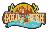 Gold Rush VBS: Embroidered Iron-On Patch: Pack of 10