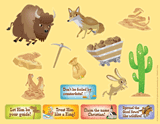 Gold Rush VBS: Sticker Sheets: Daily phrase sticker sheets (pack of 10)