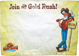 Gold Rush VBS: Outdoor Vinyl Banner