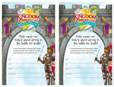 Kingdom Chronicles VBS: Volunteer Recruitment Fliers