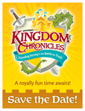 Kingdom Chronicles VBS: Save the Date Postcards