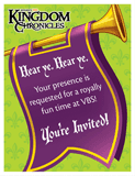 Kingdom Chronicles VBS: Invitation Postcards