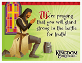 Kingdom Chronicles VBS: Praying for You Postcards