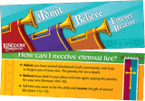 Kingdom Chronicles VBS: Admit Believe Bookmark