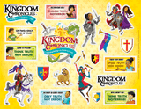 Kingdom Chronicles VBS: Daily Phrase Sticker Sheet: Pack of 10