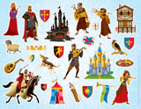 Kingdom Chronicles VBS: Clip Art Sticker Sheet: Pack of 10