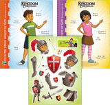 Kingdom Chronicles VBS: Armor of God Sheet & Picture: Pack of 10 Sets