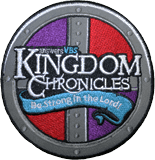 Kingdom Chronicles VBS: Embroidered Iron-on Patch