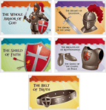 Kingdom Chronicles VBS: Armor of God Collectible Cards: KJV