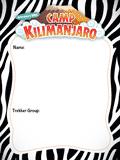 Camp Kilimanjaro VBS: Nametags