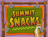 Camp Kilimanjaro VBS: Summit Snacks Rotation Sign