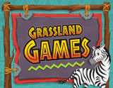 Camp Kilimanjaro VBS: Grassland Games Rotation Sign