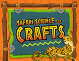 Camp Kilimanjaro VBS: Safari Science and Crafts Rotation Sign