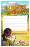 Camp Kilimanjaro VBS: Volunteer Recruitment Fliers