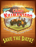 Camp Kilimanjaro VBS: Save the Date Postcards