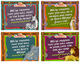 Camp Kilimanjaro VBS: Praying For You Postcards