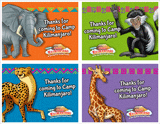 Camp Kilimanjaro VBS: Thanks for Coming Postcard