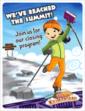 Camp Kilimanjaro VBS: Closing Program Invitation Postcards