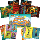 Camp Kilimanjaro VBS: Junior and Primary Illustration Posters