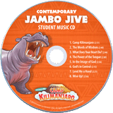 Camp Kilimanjaro VBS: Student Music CD: Contemporary