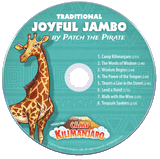 Camp Kilimanjaro VBS: Student Music CD: Traditional