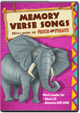 Camp Kilimanjaro VBS:Traditional Memory Verse Music Leader Set