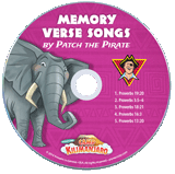 Camp Kilimanjaro VBS: Traditional Memory Verse Student CD