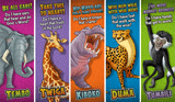 Camp Kilimanjaro VBS: Animal Pals Bookmarks: NKJV