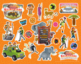 Camp Kilimanjaro VBS: Logo Clip Art Sticker Sheet