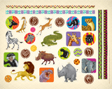 Camp Kilimanjaro VBS: African Safari Animal Stickers