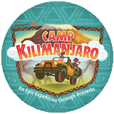Camp Kilimanjaro VBS: Logo Button
