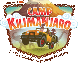 Camp Kilimanjaro VBS: Iron-On Child Logo