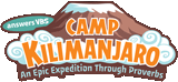 Camp Kilimanjaro VBS: Iron-On Patch