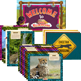 Camp Kilimanjaro VBS: Decoration Poster Set