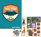 Camp Kilimanjaro VBS: Trail Guide and Sticker Set: Junior and Primary (KJV)