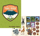 Camp Kilimanjaro VBS: Trail Guide and Sticker Set: Pre-Primary - Toddler (KJV)