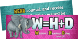 Camp Kilimanjaro VBS: Wisdom = Hearing + Doing Bookmark: KJV