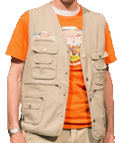 Camp Kilimanjaro VBS: Leader Vests: Adult Small