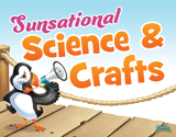 Ocean Commotion VBS: Sunsational Science and Crafts Rotation Sign