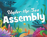 Ocean Commotion VBS: Under the Sea Assembly Rotation Sign
