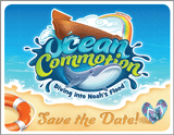 Ocean Commotion VBS: Save the Date Postcard