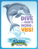 Ocean Commotion VBS: Invitation Postcard