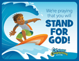 Ocean Commotion VBS: Praying For You Postcard