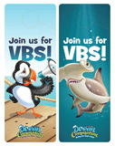 Ocean Commotion VBS: Door Hangers