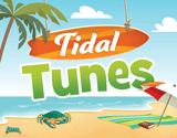 Ocean Commotion VBS: Tidal Tunes Rotation Sign